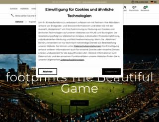 falke-footprints.com screenshot