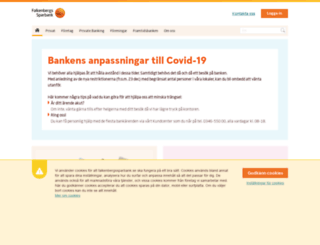 falkenbergssparbank.se screenshot