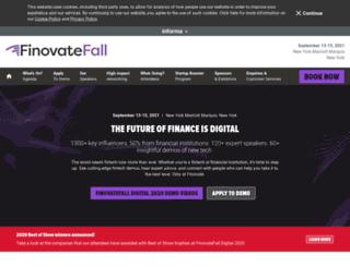fall2015.finovate.com screenshot