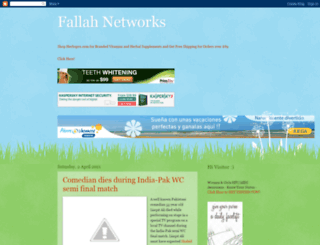 fallahnetworks.blogspot.com screenshot