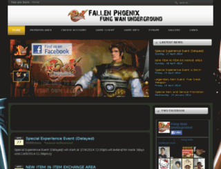 fallen-phoenix.net screenshot