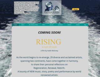 fallenangeltheatre.org screenshot