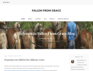 fallenfromgrace.net screenshot