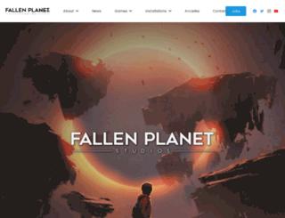 fallenplanetstudios.com screenshot