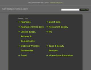 fallenragnarok.net screenshot