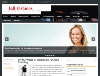 fallfashions.co.uk screenshot