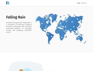fallingrain.com screenshot
