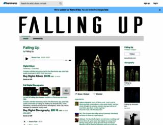 fallingup.bandcamp.com screenshot