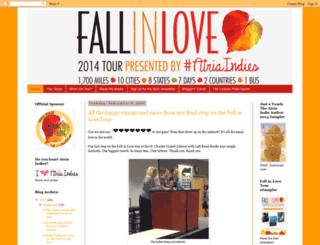 fallinlovetour.blogspot.com screenshot