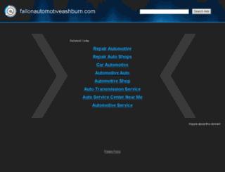 fallonautomotiveashburn.com screenshot