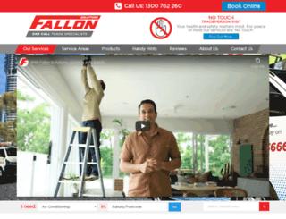 fallonservices.com.au screenshot