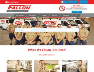 fallonservices.com screenshot