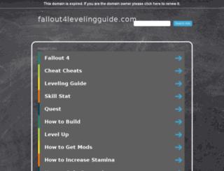 fallout4levelingguide.com screenshot