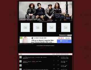 falloutboy.forum-actif.net screenshot