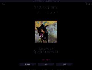 falloutboyrock.com screenshot