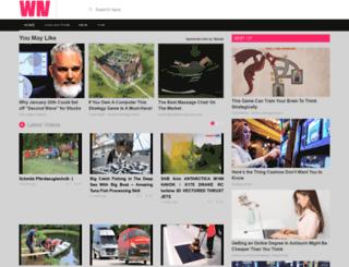 fallvir.webnouvelle.com screenshot