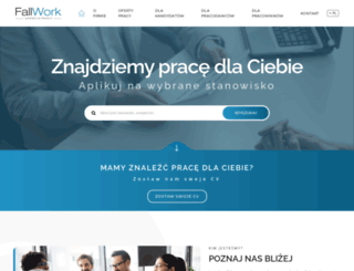 fallwork.pl screenshot