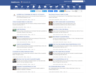 falmouth.hotbizzle.com screenshot