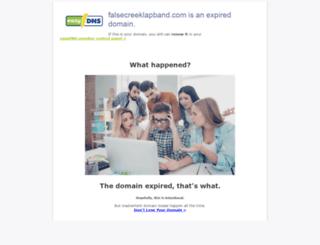 falsecreeklapband.com screenshot