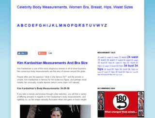 famemeasurements.com screenshot
