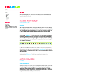 famfamfam.com screenshot