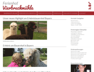 familienferien-bauernhof.de screenshot