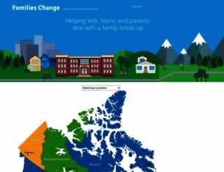 familieschange.ca screenshot