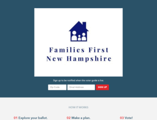 familiesfirstnh-vote.civicengine.com screenshot