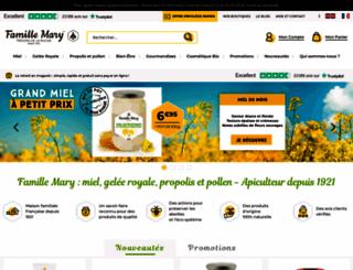 famillemary.fr screenshot