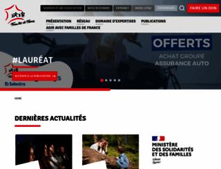familles-de-france.org screenshot