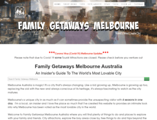 family-getaways-melbourne.com screenshot
