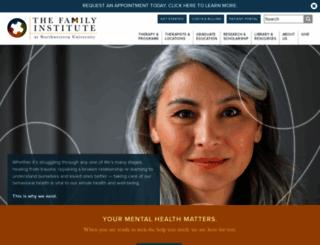 family-institute.org screenshot
