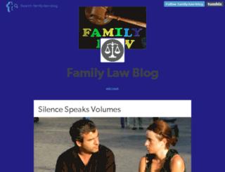 family-law-blog.tumblr.com screenshot