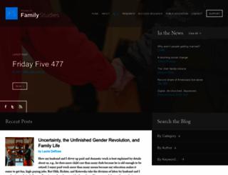 family-studies.org screenshot