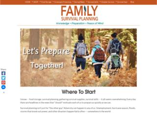 family-survival-planning.com screenshot