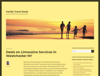family-travel-deals.com screenshot