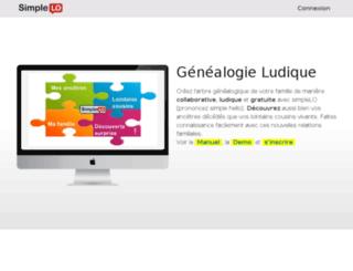 family.simplelo.com screenshot