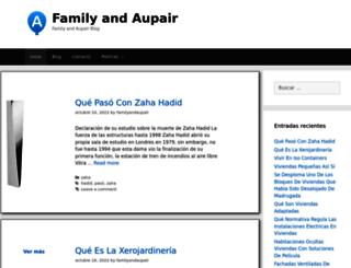 familyandaupair.es screenshot