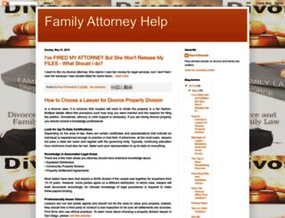 familyattorneyhelp.blogspot.com screenshot