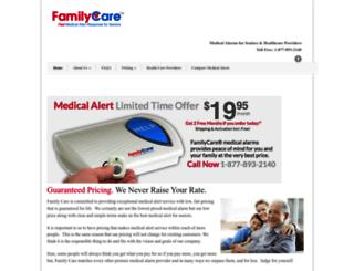 familycaremedicalalarms.com screenshot
