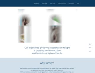familycomms.com screenshot