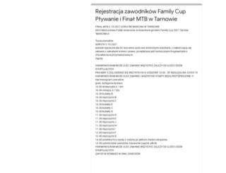 familycup.com.pl screenshot