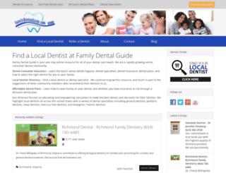 familydentalguide.com screenshot
