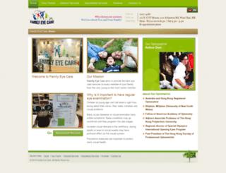 familyeyecare.com.hk screenshot