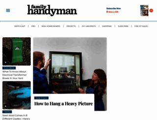 familyhandyman.com screenshot