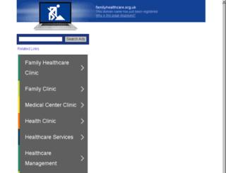 familyhealthcare.org.uk screenshot