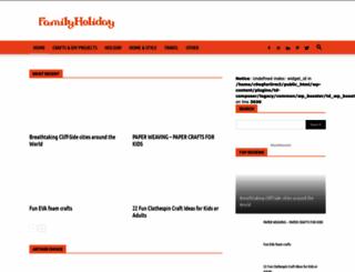 familyholiday.net screenshot
