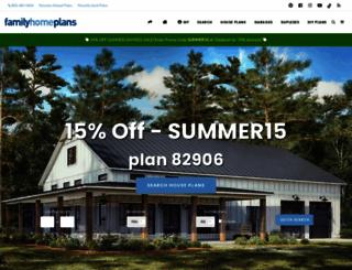 familyhomeplans.com screenshot
