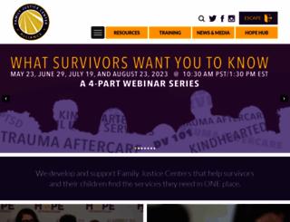 familyjusticecenter.org screenshot
