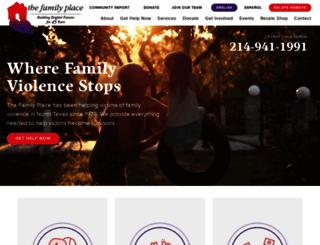 familyplace.org screenshot